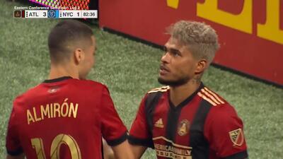 Josef Martínez la baja de pechito, fusila al portero y Atlanta sella su pase a la final del Este