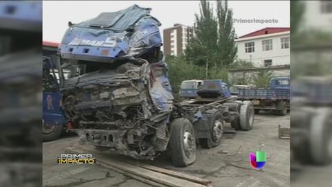 Accidente en China deja varios muertos