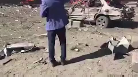 En video: Los instantes después del poderoso ataque en Afganistán que de...