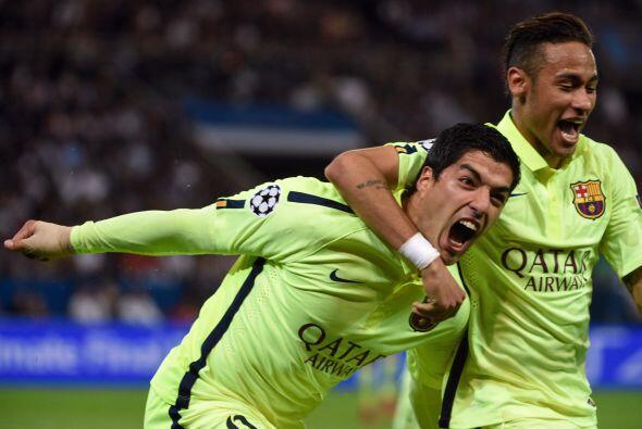 Luis Suárez dio un juegazo teniendo un estupendo accionar con velocidad,...