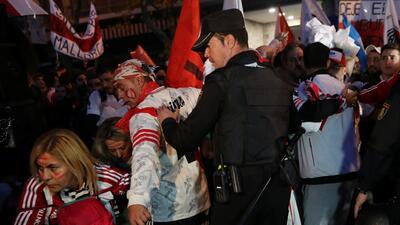 Así fueron los dispositivos de seguridad en Madrid para la final de la Copa Libertadores