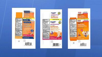 Retiran de Walmart, CVS y otras farmacias ibuprofeno para bebés por contener una dosis mayor a la recomendada