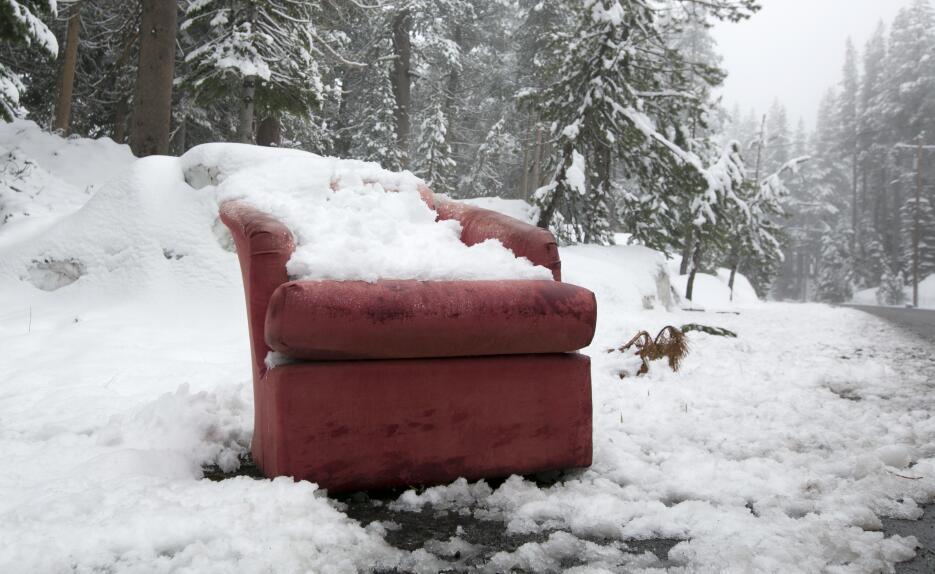 Nieve en California en junio