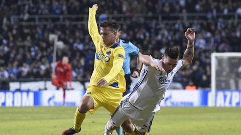 Porto sacó un punto en su visita a Copenhague
