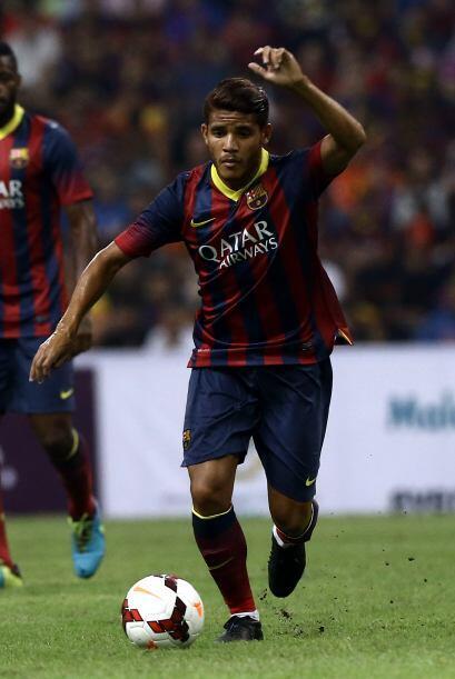 Hace cinco años Jonathan dos Santos debutó con los catalanes, desde ese...