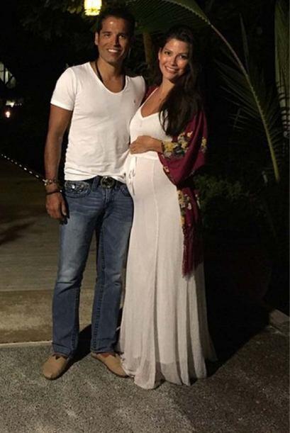 """Ultima noche en Las Maldives, de este maravilloso Babymoon"", expresó An..."