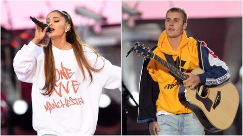 Ariana Grande y Justin Bieber no pudieron evitar las lágrimas durante el...