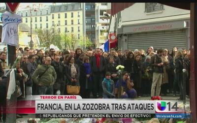Sigue el temor en las calles de Francia