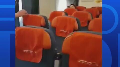 Poderosa turbulencia dejó lesionado a 27 pasajeros de un avión que cubrí...