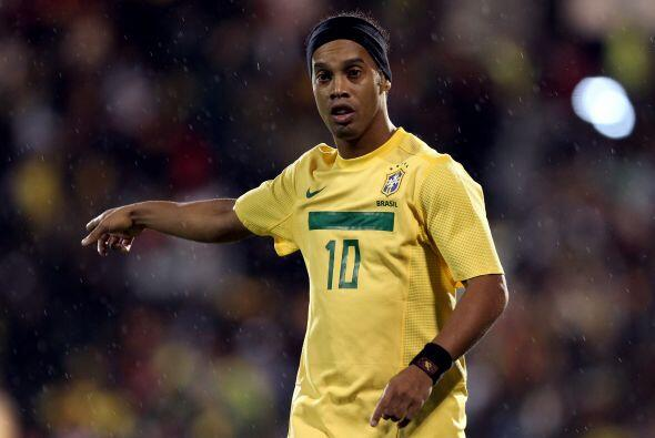 'Dinho' tomó la batuta del juego brasileño, tal y como sucedía años atrás.