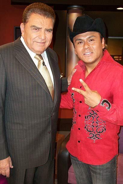 Humberto vocalista de Tierra Cali lleva su música a Don Francisco Presenta.