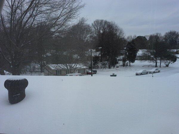 Desde el noreste de EEUU, radioescuchas enviaron fotos de tormenta invernal