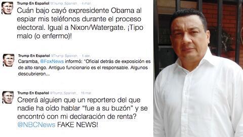 José Manuel Díaz tuitea más y mejor que la cuenta en español de la Casa...