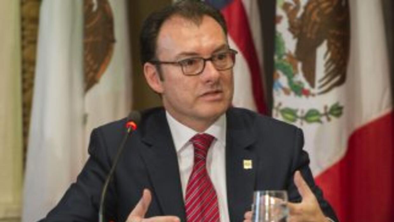 El ministro de Hacienda mexicano, Luis Videgaray.