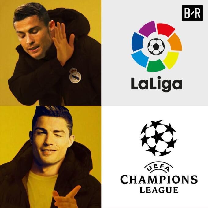 Real Madrid y CR7 golearon en la Champions y en los memes dpl0068voaaywx...