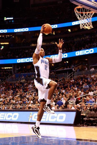 2. Dwight Howard, el centro de los Orlando Magic.