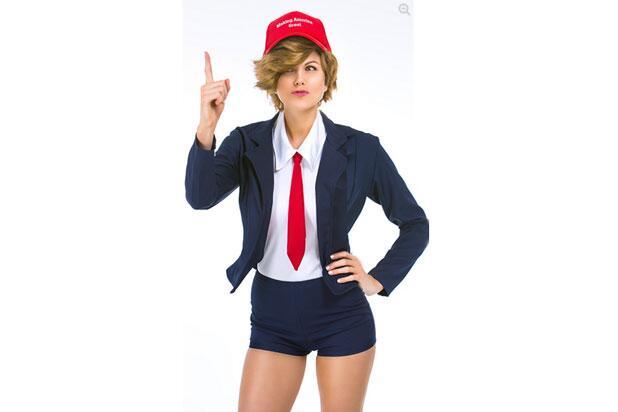 """Una sexy política llamada """"Donna T. Rumpshaker""""."""