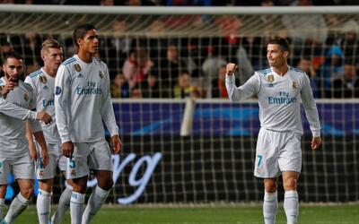 Cristiano Ronaldo festejó su doblete y la clasificación a...
