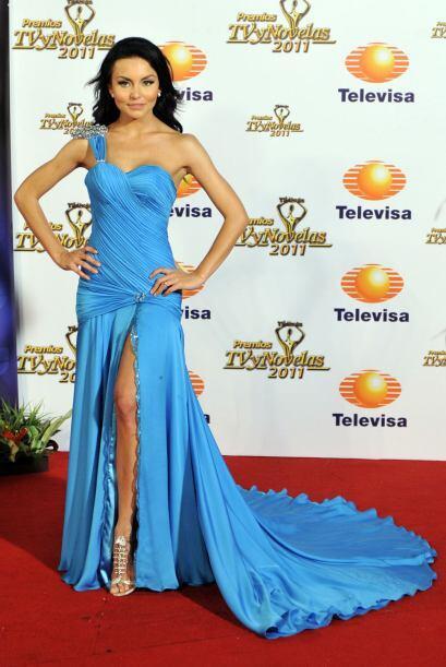 Angelique Boyer es una de las actrices más sexys y en 2011 dejó a todos...
