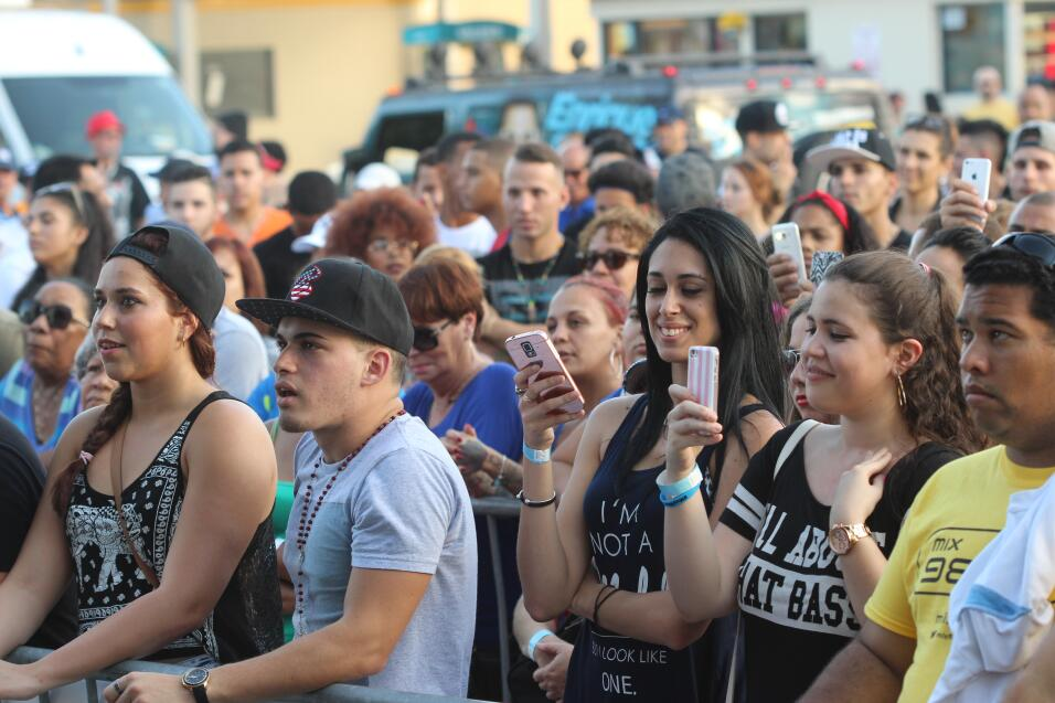 ¡Miami se disfrutó el Latin Grammy Street Party!