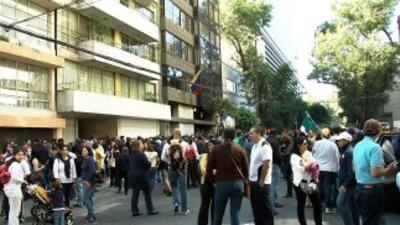 Venezolanos en México emitieron su voto.