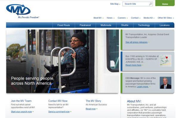 9. MV TRANSPORTATION   Sector de la industria: Contratista de transporte...
