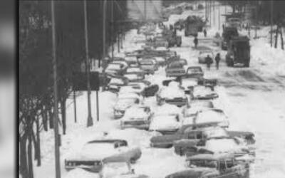 Efeméride: 23 pulgadas de nieve azotaron a Chicago hace 50 años