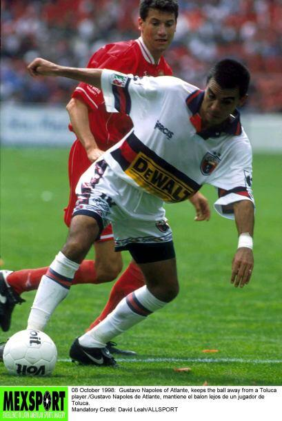 El Atlante sorprendió al Toluca en su casa en 1998, los Potros vencían 2...