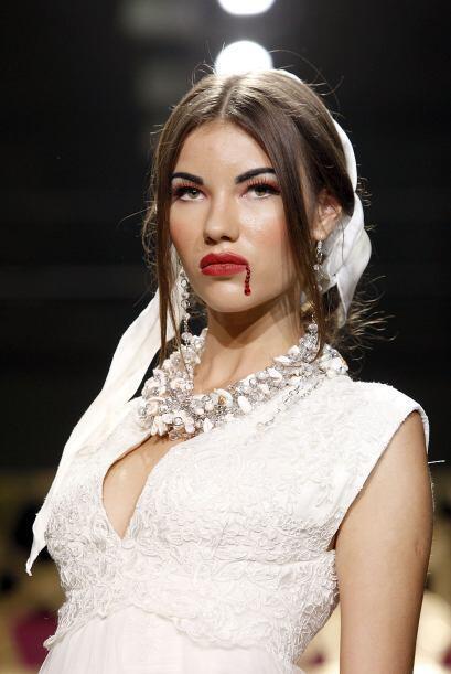 El maquillaje dramático o de fantasía nos agrada, siempre y cuando no no...