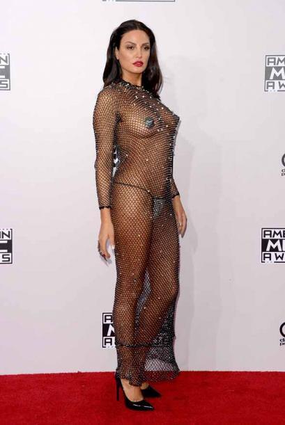 La cantante de Pop & R&B dejó a todos con la boca abierta...