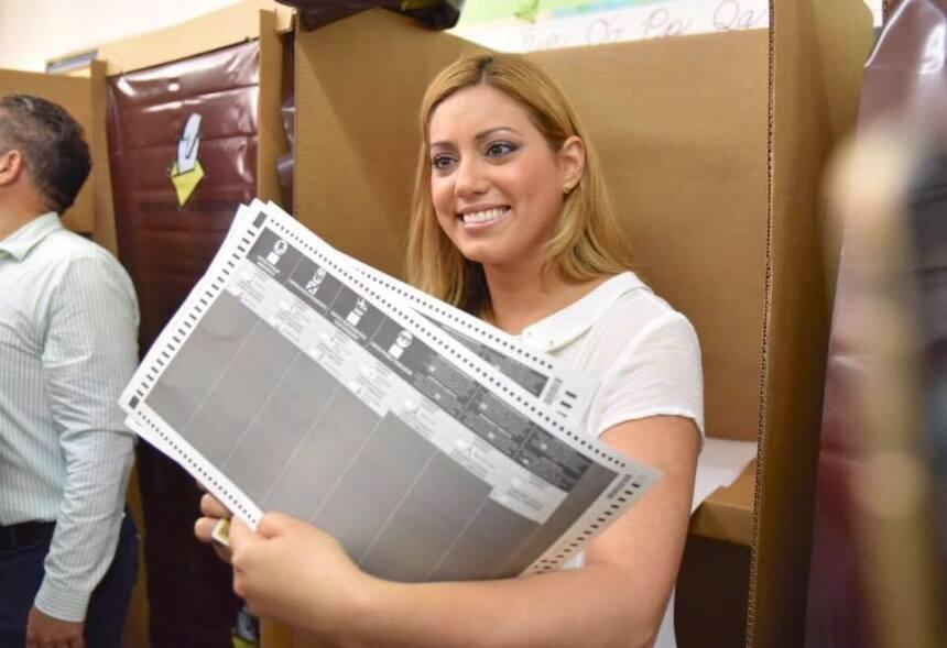 Asi han votado los candidatos políticos