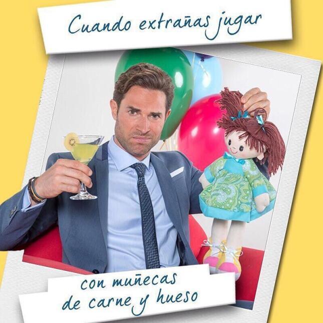 Sebastián Rulli y Maite Perroni listos para el estreno de 'Papá a to...