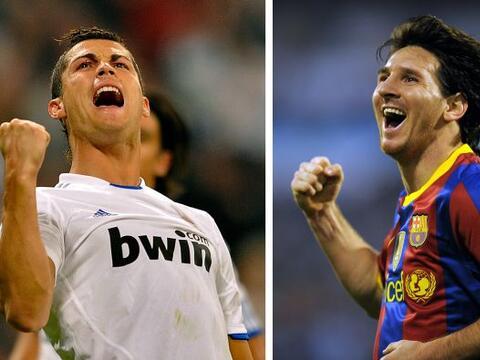 Messi y Cristiano Ronaldo son ídolos, figuras en sus equipos y en...