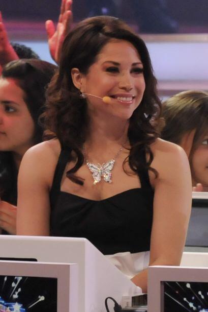 La bailarina y cantante Bianca Marroquín será otra de las...