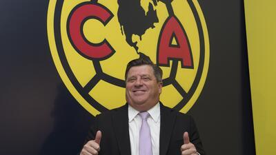 Así fue la presentación de Miguel Herrera como nuevo técnico del América