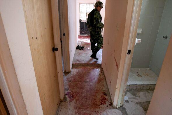 En enero, en la fronteriza Ciudad Juárez se registró una masacre de 15 j...