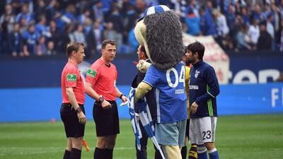 Erwin, mascota del Schalke 04