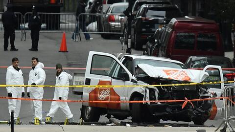 El ataque en Nueva York mató a ocho personas e hirió a otr...