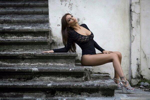 Matilde es una bella modelo italiana que últimamente a acaparado las por...