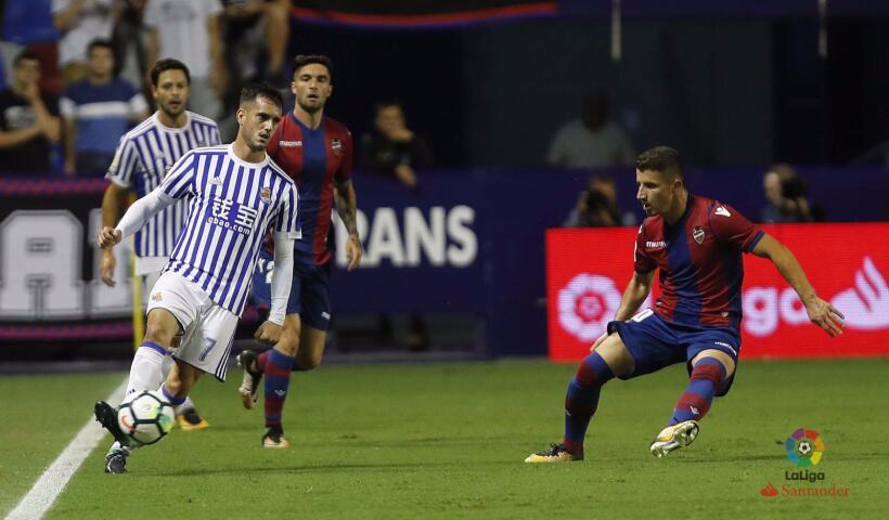 Real Sociedad y Carlos Vela fueron goleados por el Levante dkrtq4aw0aemp...