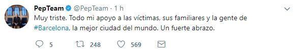 El mundo del deporte se solidariza con las víctimas de Barcelona BCN17.JPG