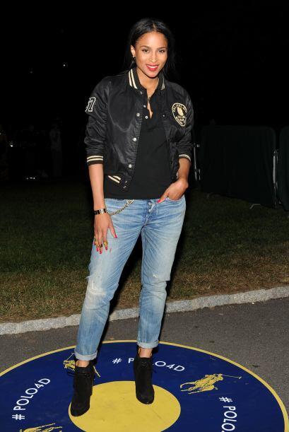 La cantante Ciara se ha declarado fan de la moda, por eso no se pierde n...