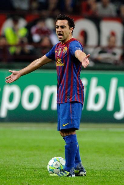 Y Xavi Hernández, que el sábado salió ya avanzada la segunda parte, por...