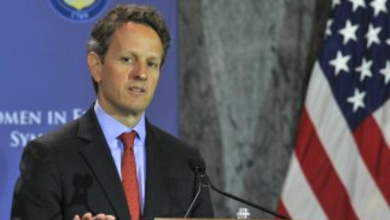 El secretario del Tesoro, Timothy Geithner, afirmó que el límite del tec...
