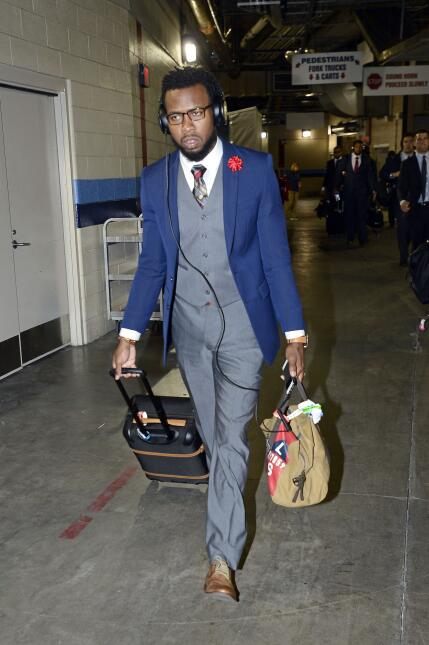Los mejores 'outfits' en la semana 10 de la NFL por Eric Montgomery de N...
