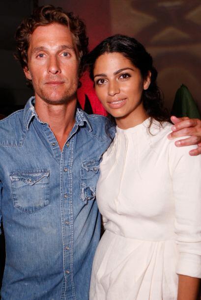 Matthew McConaughey y Camila Alves Después de seis años de relación (y t...