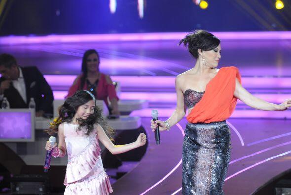 Es impactante ver a los pequeños compartiendo el escenario con grandes a...