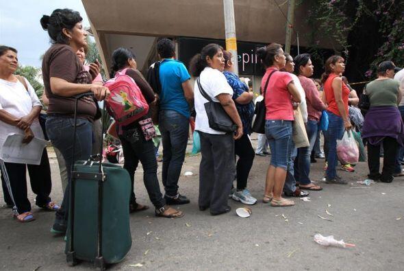 Sin embargo, Murillo Karam les pidió a esas familias un poco de paciencia.