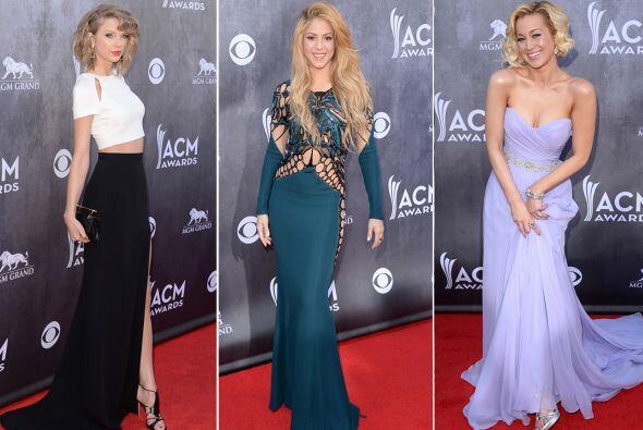 Estas son las celebridades que engalanaron los Country Music Awards 2014...