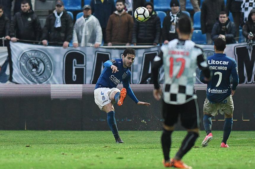 Rio Ave 2-[1] Feirense: a pesar de la derrota de su equipo, Antonio Bris...